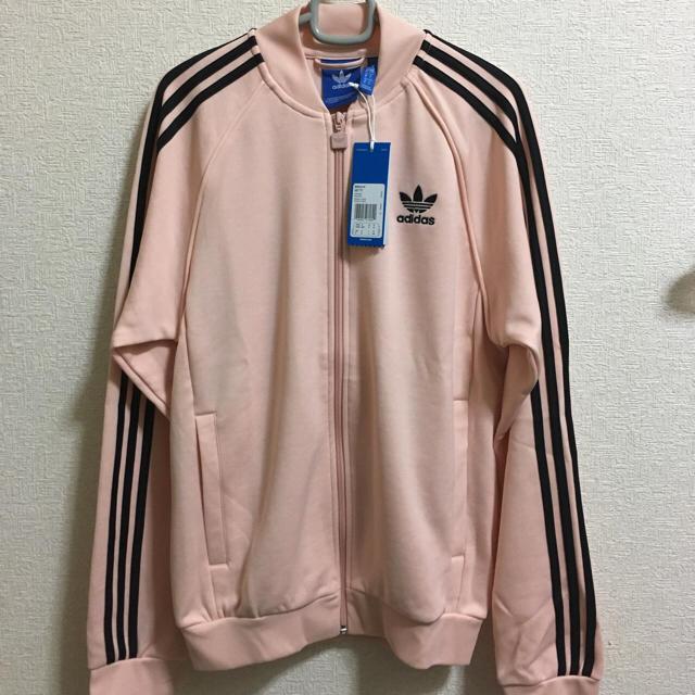 アディダス オリジナル ジャージ ピンク