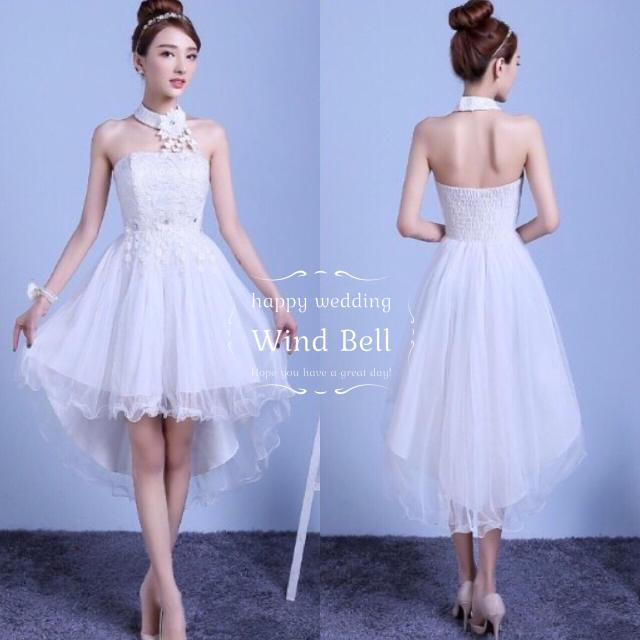 結婚式 ドレス フィッシュテール