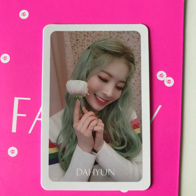 twice ダヒョン fancy
