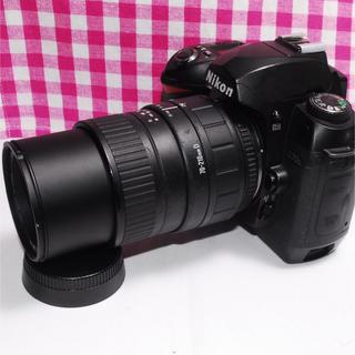 ニコン(Nikon)の❤アップで撮りたい❤ Nikon D70 望遠レンズキット♪(デジタル一眼)