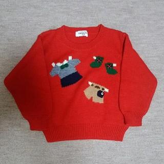 ファミリア(familiar)のファミリアのセーター サイズ100 familiar(ニット)