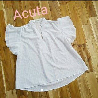 アクータ(Acuta)のおしゃれ☆ 使えるAcuta sizeフリー フレアーブラウス アクータ(シャツ/ブラウス(半袖/袖なし))