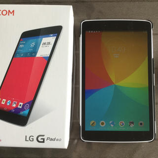 エルジーエレクトロニクス(LG Electronics)のLG  G pad  8.0   【J:COM】(タブレット)