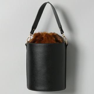 ジーナシス(JEANASIS)のジーナシス 人気ファー付きショルダーバッグ (ショルダーバッグ)