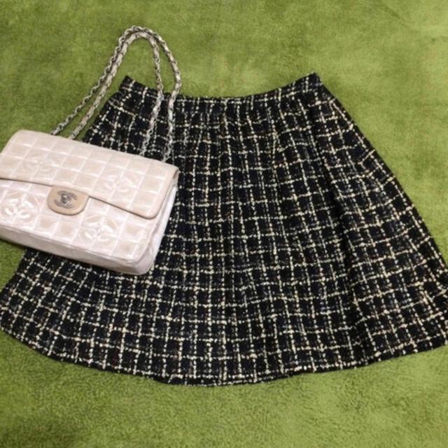 Chesty(チェスティ)のchesty 定価23760円 ツイードスカート レディースのスカート(ミニスカート)の商品写真