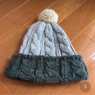 スタディオクリップ(STUDIO CLIP)の美品☆スタジオクリップ studio clip ニット帽 kids(帽子)