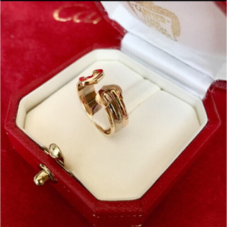 カルティエ(Cartier)の※12月27日まで値下げ Cartier 2C スリーカラー リング(リング(指輪))