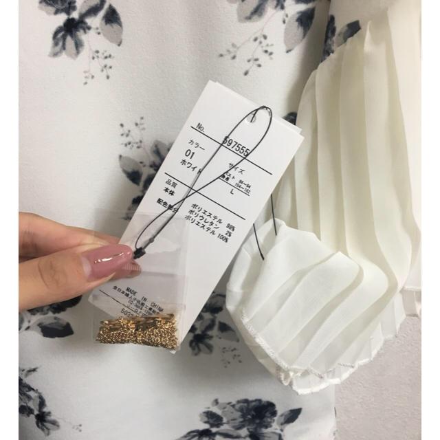 しまむら(シマムラ)の値下げ!しまむら♡新品 花柄トップス レディースのトップス(シャツ/ブラウス(半袖/袖なし))の商品写真