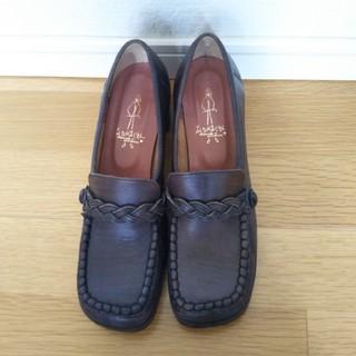 アシナガオジサン(あしながおじさん)の■yuki様専用■あしながおじさん ローファーパンプス 24センチ(ローファー/革靴)