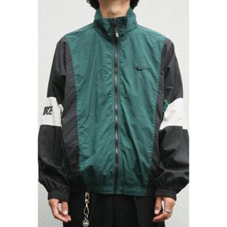 ナイキ(NIKE)のNIKE vintage90's Nylon Jackets M 銀タグ(ナイロンジャケット)