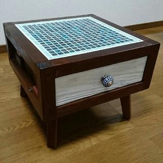 ✴️ONO様専用✴アート テーブル~モザイク仕様(ローテーブル)