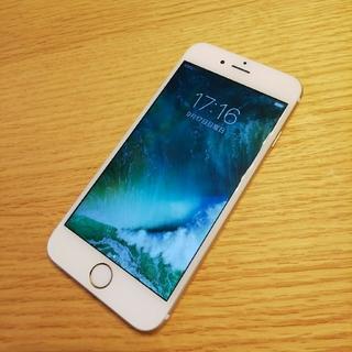 アイフォーン(iPhone)のiphone6 au 中古 ゴールド 64GB 本体のみ(スマートフォン本体)
