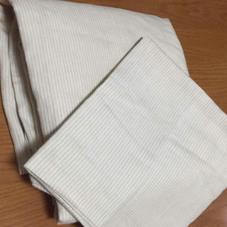 ムジルシリョウヒン(MUJI (無印良品))の無印良品のリネン100%の掛け布団カバーと枕カバー(シーツ/カバー)