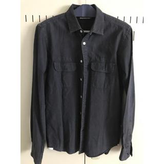 デラックス(DELUXE)のデラックス ブラック シャツ(シャツ)