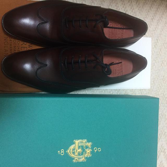 EDWARD GREEN(エドワードグリーン)の新品 エドワードグリーン 8h メンズの靴/シューズ(ドレス/ビジネス)の商品写真