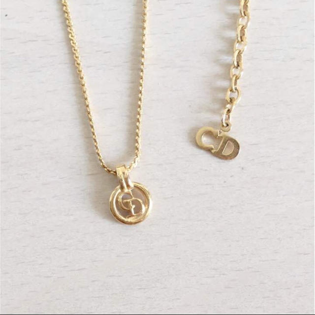 big sale af012 18f85 ♡クリスチャンディオール♡ ネックレス ゴールド | フリマアプリ ラクマ