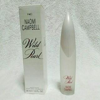 ナオミキャンベル(Naomi Campbell)のナオミキャンベル 香水 ワイルドパール オードトワレ 30ml 箱付き(香水(女性用))