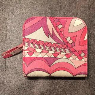 エミリオプッチ(EMILIO PUCCI)のエミリオプッチ コインケース ピンク 美品(コインケース)