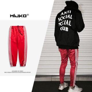 adidas好きオススメ トラックパンツ 3本ライン supreme NIKE(ジャージ)