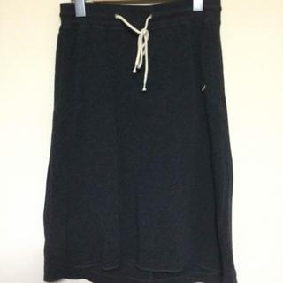 プラステ(PLST)のPLST スエットスカート(ひざ丈スカート)