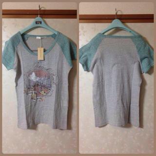 ミスティウーマン(mysty woman)のミスティーウーマン プリントT(Tシャツ(半袖/袖なし))