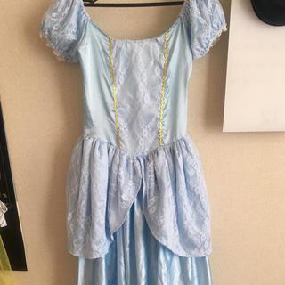 ディズニー(Disney)のシンデレラドレス+グローブティアラ(その他ドレス)