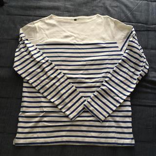 ムジルシリョウヒン(MUJI (無印良品))の無印 ボーダー(Tシャツ/カットソー(七分/長袖))