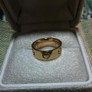 ゴールドのリング(ノーブランド)(リング(指輪))