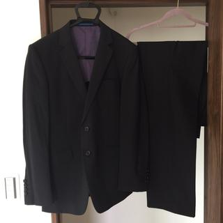 アオキ(AOKI)の美品【シルク混】 Y6 ビジネススーツ ダークネイビー AOKI アオキ(セットアップ)