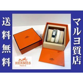 エルメス(Hermes)の人気のシリーズの白!★エルメス ケリー2ホワイトエプソン×白文字盤【マルヨ質店】(腕時計)