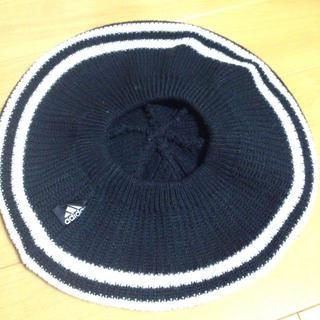 アディダス(adidas)のadidas*ベレー帽(ハンチング/ベレー帽)