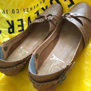 幅広楽チン靴!Mサイズ ブラウン(ハイヒール/パンプス)