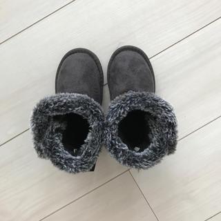 シマムラ(しまむら)の新品♡ハリスツイード ムートンブーツ16(ブーツ)