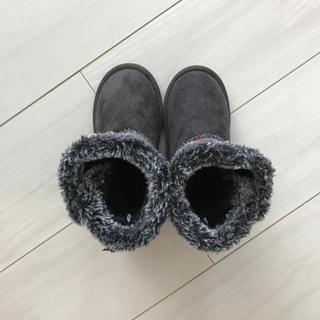 シマムラ(しまむら)の新品♡ハリスツイード ムートンブーツ17(ブーツ)