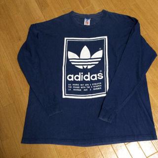 アディダス(adidas)のadidasメンズXLロンT(Tシャツ(長袖/七分))