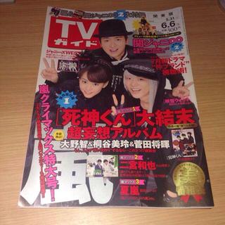 エイチケーティーフォーティーエイト(HKT48)のTVガイド 2014.531-66 嵐(アイドルグッズ)