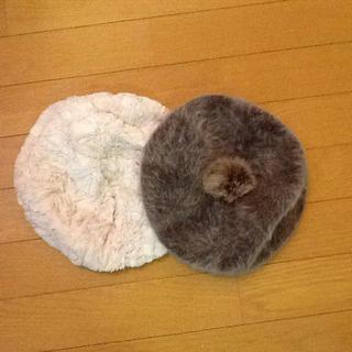 シマムラ(しまむら)のchuchu様専用❣️    新品❣️ベレー帽❣️2枚セット!(ハンチング/ベレー帽)