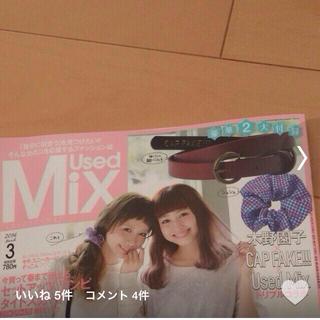 カップフェイク(CAP FAKE!!!)のUsedMix 2014.3付録(ベルト)