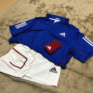 アディダス(adidas)の【古着】アディダス テニスウェアセット Lサイズ【A.マレー着用】(ウェア)