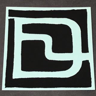 ディーラックス(DEELUXE)のDEELUXE ディーラックス LOGO STICKER 黒/透明 9.5cm(アクセサリー)