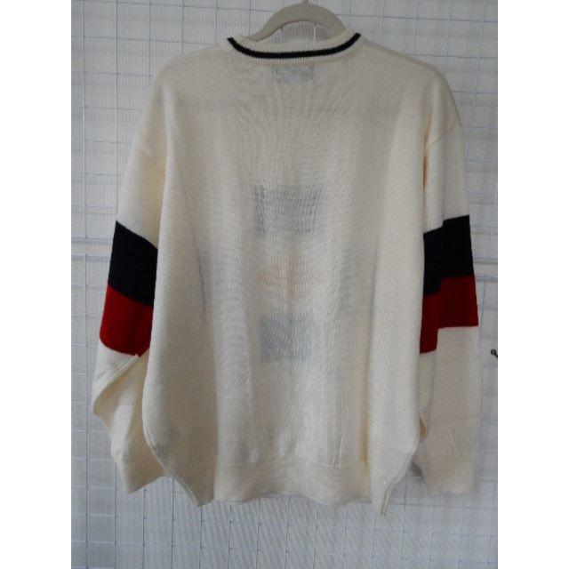 DUNLOP(ダンロップ)のダブルボギー様専用オフホワイト 着易いセーター メンズのトップス(ニット/セーター)の商品写真