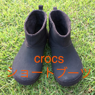 クロックス(crocs)のSOLD ⭐︎ crocs shortyessa suede boot (ブーティ)