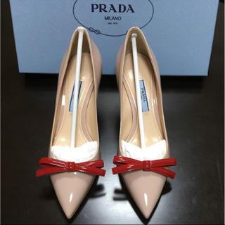 プラダ(PRADA)の【新品未使用】Pradaピンヒール 35 EUサイズ34(ハイヒール/パンプス)