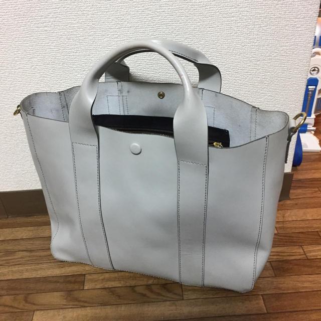GAP(ギャップ)のGAP 本革トート レディースのバッグ(トートバッグ)の商品写真