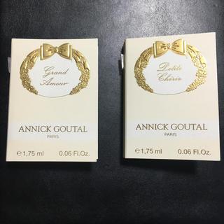 アニックグタール(Annick Goutal)のアニックダール 香水サンプル2本セット(香水(女性用))