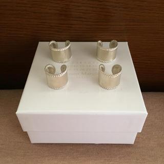 マルタンマルジェラ(Maison Martin Margiela)の大幅値下16AW新品 マルジェラ 4連リング (リング(指輪))
