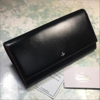 ヴィヴィアンウエストウッド(Vivienne Westwood)のVivienne Westwood 長財布 ヴィヴィアン タイニーオーブ 黒(財布)