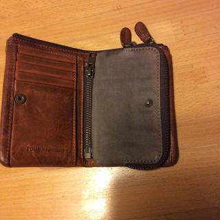 タフ(TOUGH)のtough タフ  ヴィンテージ加工 大容量 財布 カードポケット多数(折り財布)