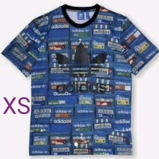 アディダス(adidas)のアディダス オリジナルス ロゴTシャツ XS 新品未使用タグ付き(Tシャツ/カットソー(半袖/袖なし))