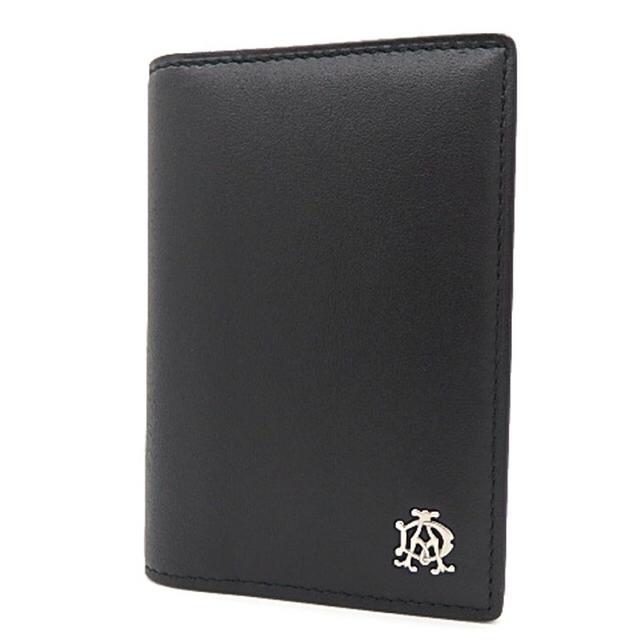 Dunhill(ダンヒル)のダンヒル パスケース パスケース/カードケース レザー ブラック 黒  メンズのファッション小物(名刺入れ/定期入れ)の商品写真